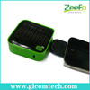 Mobile phone accessories high capacity 3000mAh usb solar power bank charger