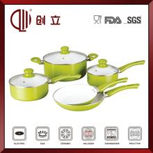 Aluminum porcelain ceramic cookware