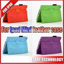 New 360 Degree Rotating PU leather case for ipad mini