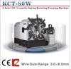 KCT-80W CNC wire bending machine & CNC spring former & torsion spring machine
