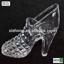 Acrylic craft of high heel shoes display