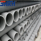 Bell end upvc pipe,upvc pressure pipe for water supply