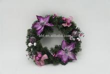 40CM PVC Christmas Wreath