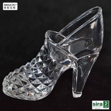 High clear for acrylic high heel shoes craft display