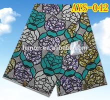 super wax textile fabrics, real wax cotton material