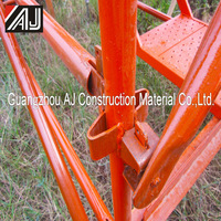 Guangzhou steel kwikstage scaffolding components for use in the refurbishment process