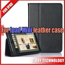 Wholesale hot selling bluetooth keyboard with leather case for ipad mini