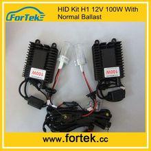 New generation 18 months warranty100 watt hid ballast 12v 6000k,12000k,h1,h4,h7 waterproof dustproof made in china