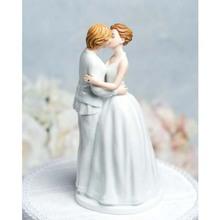 Wedding Favor Lesbian Couple Figurine Wedding Cake Topper Figurines