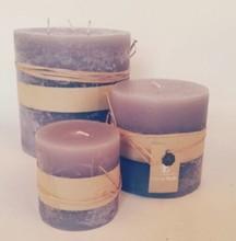 classic small gift craft bulk custom rustic low temperature pillar candle