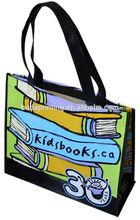 Children like best bag,full color bag,child handle bag