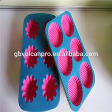 silicone bakeware manufacturer providing tow color silicone bakeware