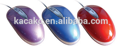 Classic style 3d optical USB wired mouse