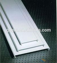 C shaped aluminum strip ceiling,suspended aluminium strip false ceiling