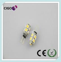 Hotsale G4 5050 9SMD 12v Led Car Bulb Spotlight