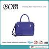 seller designer women navy blue leather handbag bag
