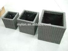 pp rattan round bread basket storage tray fruit gift bath wicker flower soap
