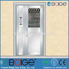 BG-SS9065 new edge single stainless steel exterior security door