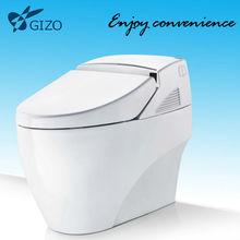 ceramic intelligent sanitary ware toilet with night light