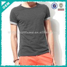 Mens fashion shirts oem, brand t shirt stylish for men, designer fashionable shirts for men
