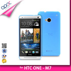 MATTE MOBILE PHONE COVER FOR HTC ONE M7 SOFT PP TPU BACK CASE
