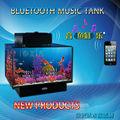 Vidro mini usb/bluetooth tanque de aquário para venda