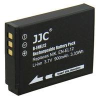 JJC Camera Li-ion Battery Pack replaces Nikon EN-EL12 for NIKON COOLPIX P330, AW110, S31, S9500, S800C, S9300, S6300, P310