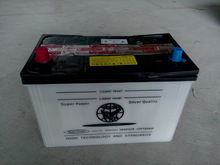 Factory wholesale 12V100AH dry charge car battery For Nigeria marketing