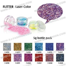Nail Art Glitter Flitter Decoration 12 colors mix, Nail Accessories Flitter