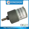 DS-37RS3525 dc gear motors 12V gear motor working principle