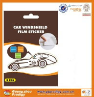 Household sundries series car sticker for windshield/car windshield sticker design