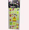 glow in the dark sticker for children DIY, glow in the dark sticker wall sticker