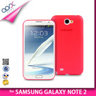 MATTE BACK COVER FOR SAMSUNG GALAXY NOTE 2 N7100 SOFT PP TPU CASE