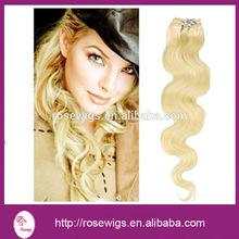 Best selling Grade 5a Wholesale Blonde russian virgin hair