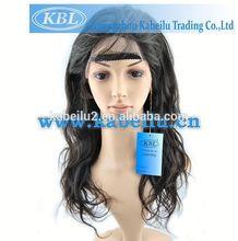 Modern short human hair wig for black women