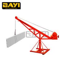 lightweight lift crane 360 degree small crane 1000kg