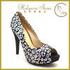 2015 fancy ladies party shoes women platform high heel shoes