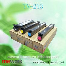 Compatible TN213 Toner Used Copiers Konica Minolta C203/253