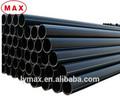 Pn10 flexível HDPE tubulação de esgoto 200 mm polietileno tubo de drenagem