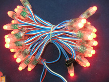 12mm WS2811 waterfall led string light;DC5V input;full color;50pcs a string;waterproof IP68;round shape