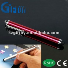 luxury promo gifts metal touch pen for smartphone