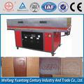 De fusión en caliente y revestimiento de la máquina que lamina de pvc/de chapa de madera de prensa de membrana de mdf puerta de la máquina