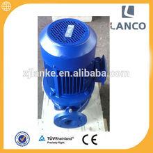 Lanco brand ISG firejockey pump with pipeline water pump price of 2hp