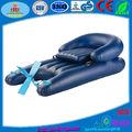 pvc inflable barco del pedal para la piscina flotante