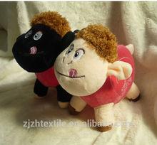 Lamb toys, Lamb & the Butterfly Plush White Sheep