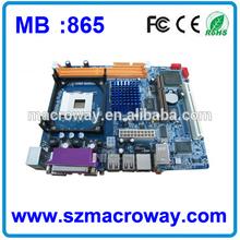 OEM Socket 478 DDR1 865 Motherboard for Desktop PC Computer