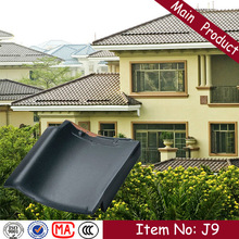 J9 310X310mm hot sale decorative asa coated concrete flat roof tile