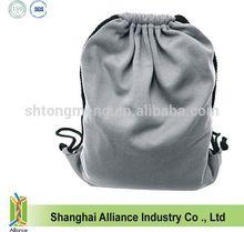 Promo eco-friendly Athletic Polyester Fleece Drawstring Bag/Backpack