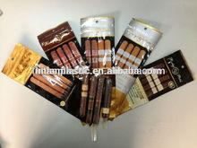 ziplock resealable plastic tobacco cigar pouch /cigar bags