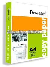 Special manufacture A4 size paper reams copy paper a4 80gsm